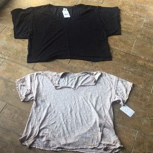 Free People tops lot. NWT